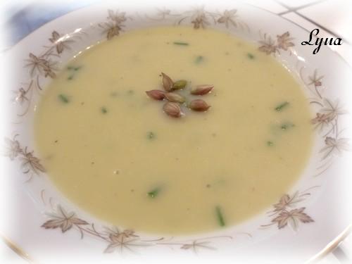 Crème de poireaux et pommes de terre Crame_11