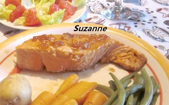 Darnes de saumon à l'érable Darnes10
