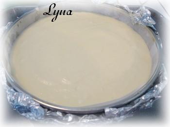Gâteau au fromage Japonais, garniture aux fraises Gateau12