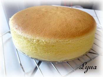 Gâteau au fromage Japonais, garniture aux fraises Gateau13
