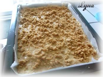 Gâteau danois à la purée pomme-citrouille avec streusel Gateau27