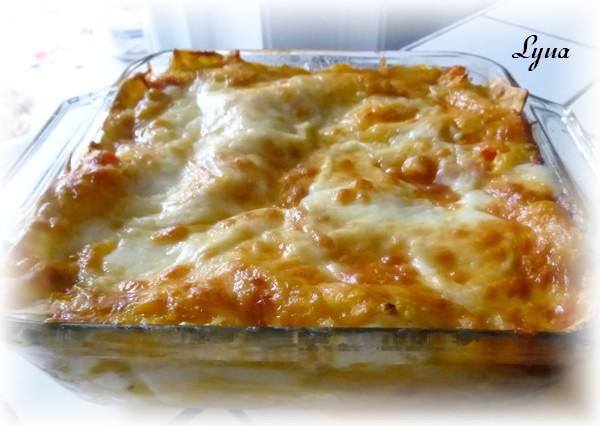 Lasagne à la courge butternut grillée et aux épinards Lasagn16