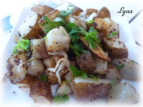 Pommes de terre à la moutarde Patate11