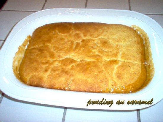 Pouding au caramel (style pouding chômeur)  Poudin10