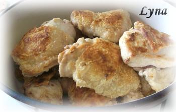 Cuisses de poulet au lait de coco et artichauts Poulet17