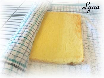 Gâteau roulé à la citrouille Rouly410