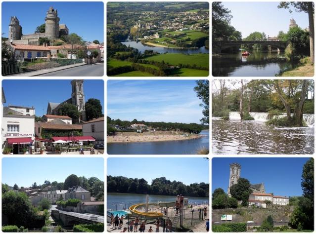 Gites vacances 17 km Mer, Lac et Plage à 1 km, 85220 Apremont (Vendée) Carte-12
