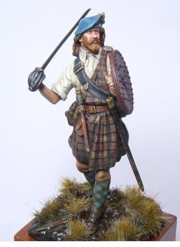 Highlands clansman (54mm) Xw10