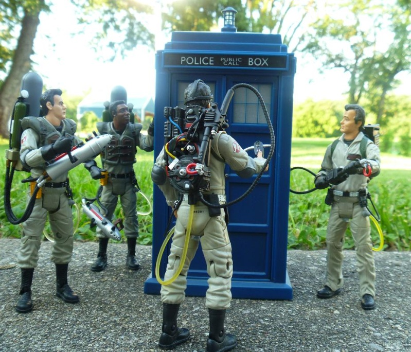 Ghostbusters Action figures Gb1010