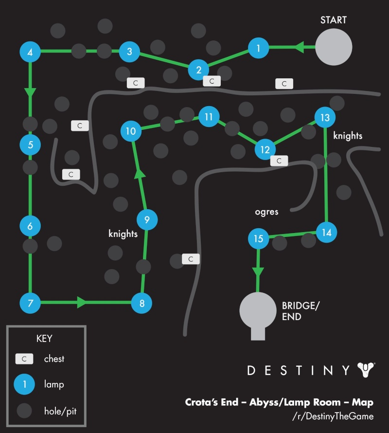 Destiny: TDB Lamp Map Lamps10