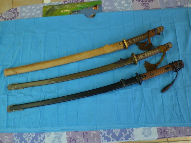 sabre, wakisashi, gunto, mes armes blanches du Japon moderne,  - Page 2 Imgp8427