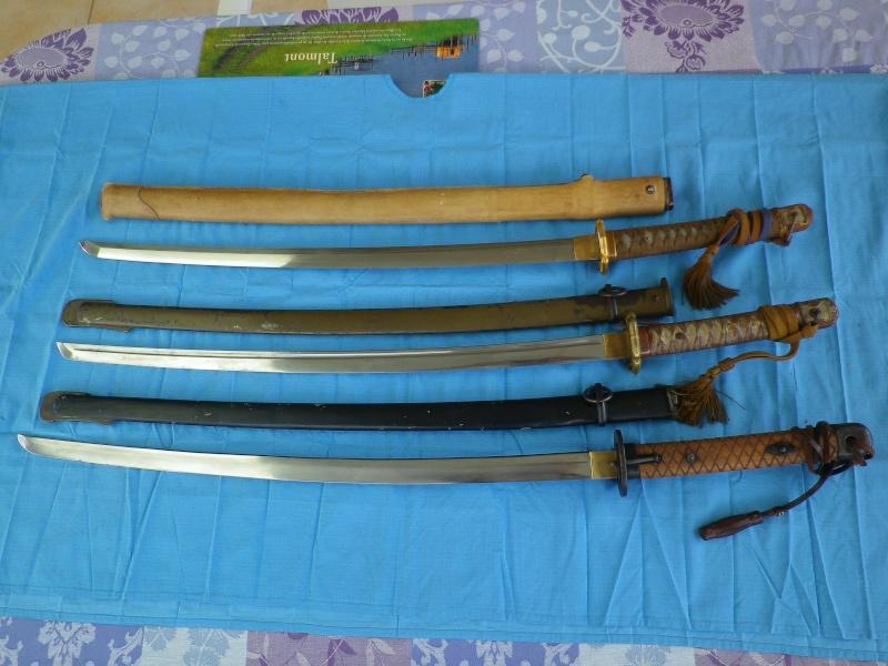 sabre, wakisashi, gunto, mes armes blanches du Japon moderne,  - Page 2 Imgp8428