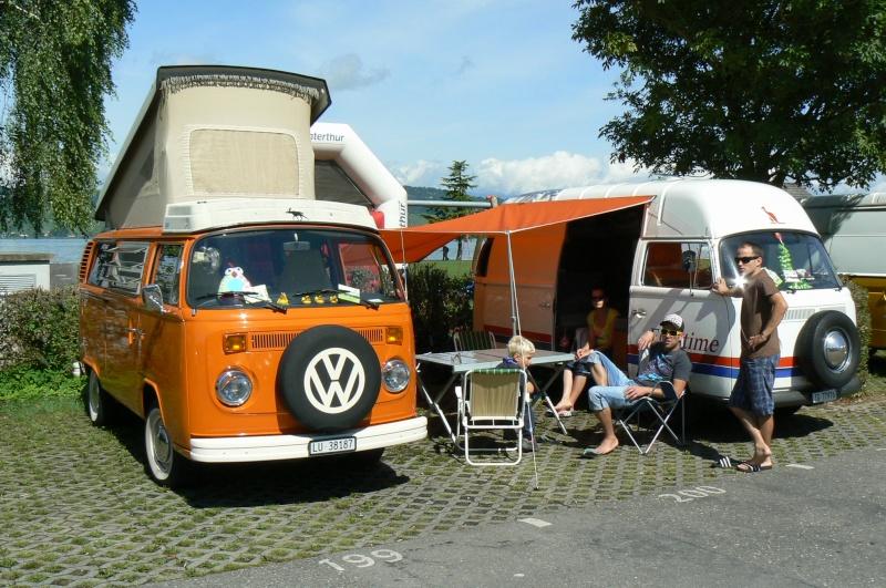 1er meeting international VW Vintage de Morat / Suisse  P1070029