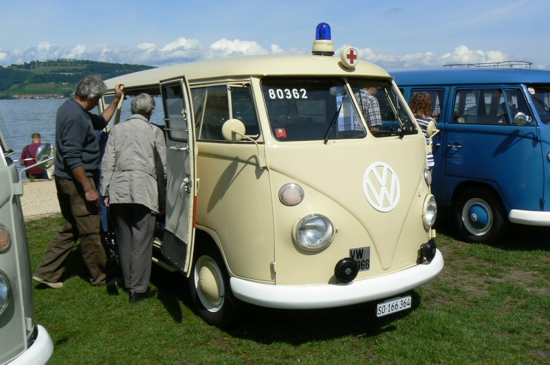 1er meeting international VW Vintage de Morat / Suisse  P1070136