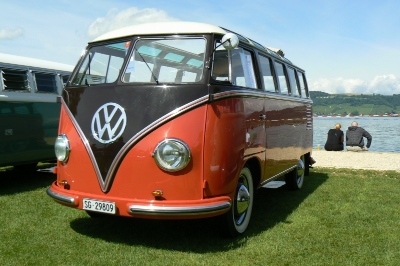 1er meeting international VW Vintage de Morat / Suisse  P1070210