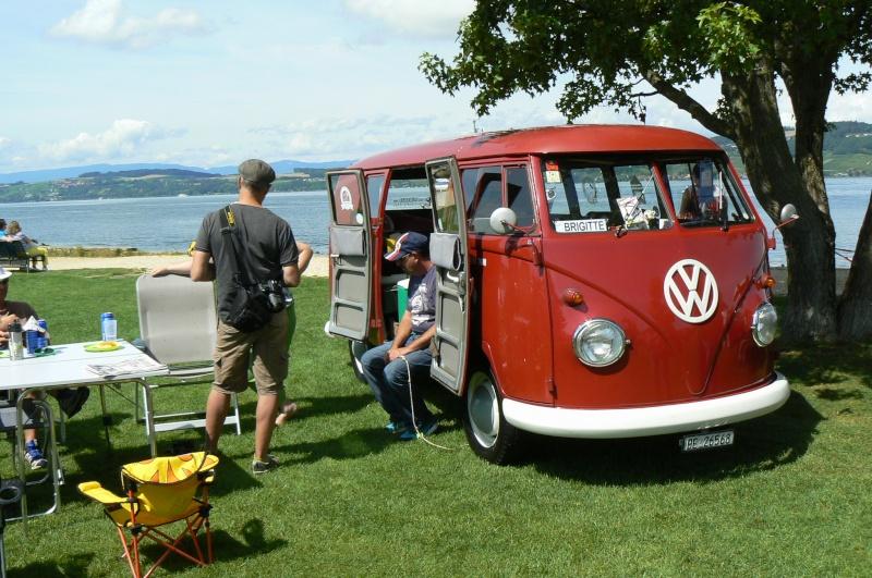 1er meeting international VW Vintage de Morat / Suisse  P1070213