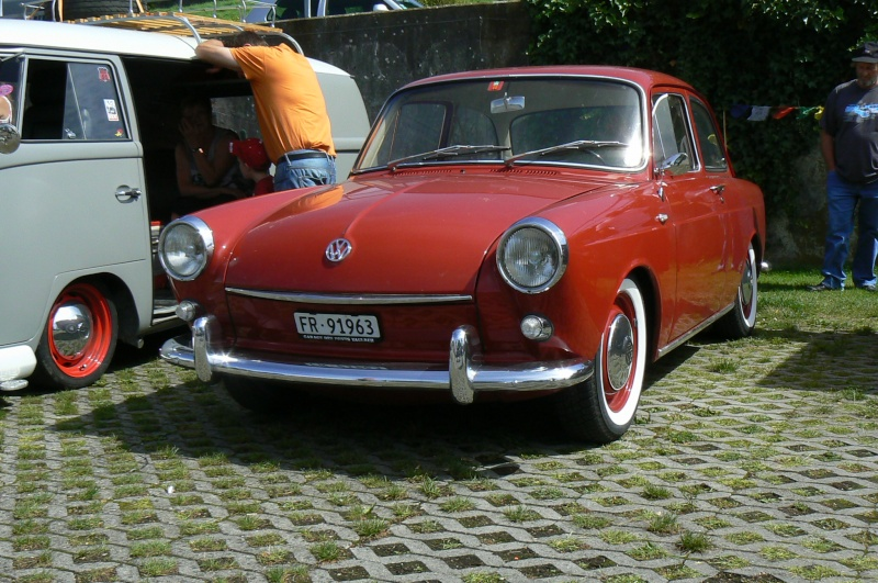 1er meeting international VW Vintage de Morat / Suisse  P1070227