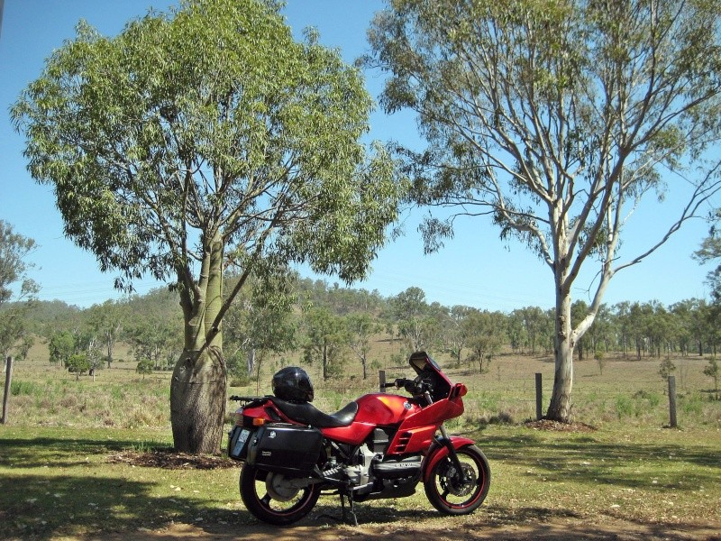 Our eight day ride from Queensland down to Victoria and back. 01711