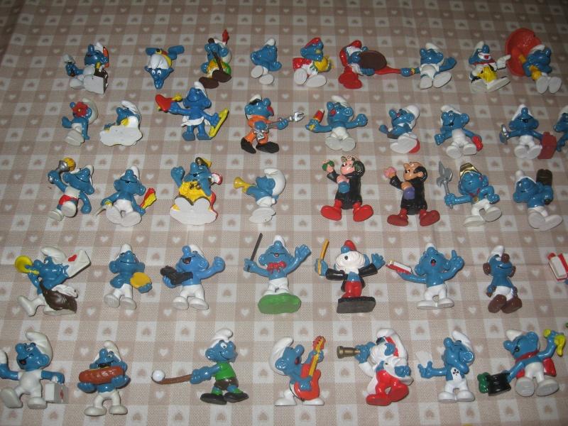 Puffi e altri personaggi in PVC Img_3112