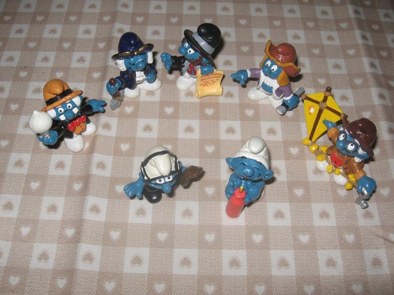 Puffi e altri personaggi in PVC Img_3116