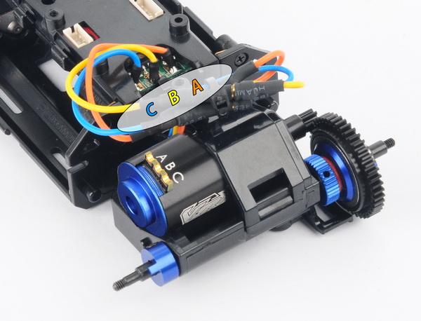 schéma des cablages des moteurs brushless . Mo-03510