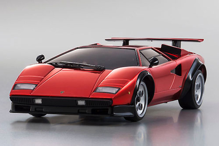 Lamborghini Countach LP500S Chrome Red 50th Anniversary Spec Mzp31610