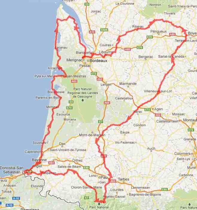 Ronde Alienor -Aquitaine par GILLES CHARTIER Circui10