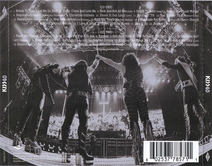 Kiss - 40 Years - Decades Of Decibels (2014) 14013010