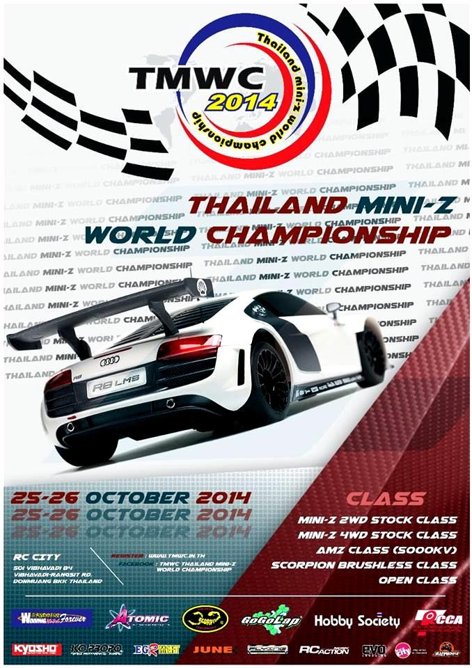 25/26 OCT 2014 Thailand Mini-Z World Championship 2014 99928711