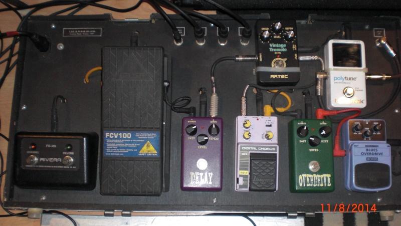 "Construction d'un ""pedalboard"" Cimg1128"