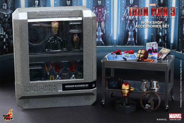 HOT TOYS - Iron Man 3 - Workshop Accessories Set 10406310