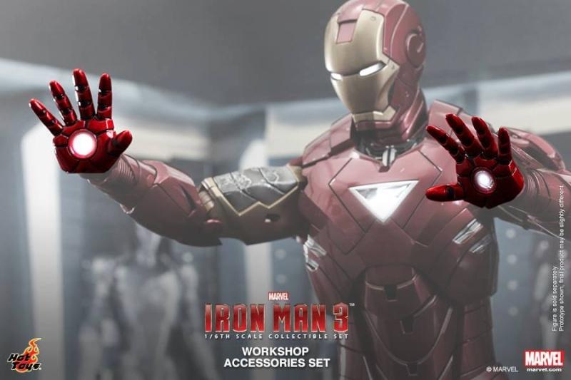 HOT TOYS - Iron Man 3 - Workshop Accessories Set 10487310