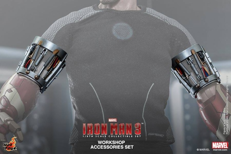 HOT TOYS - Iron Man 3 - Workshop Accessories Set 10487312