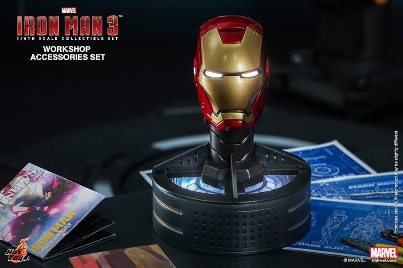 HOT TOYS - Iron Man 3 - Workshop Accessories Set 10489810