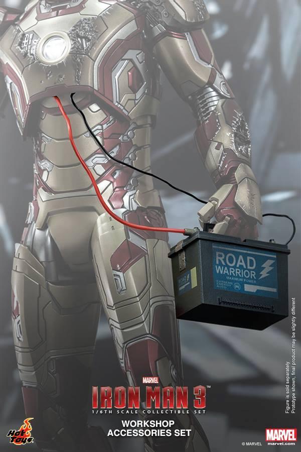 HOT TOYS - Iron Man 3 - Workshop Accessories Set 10494610