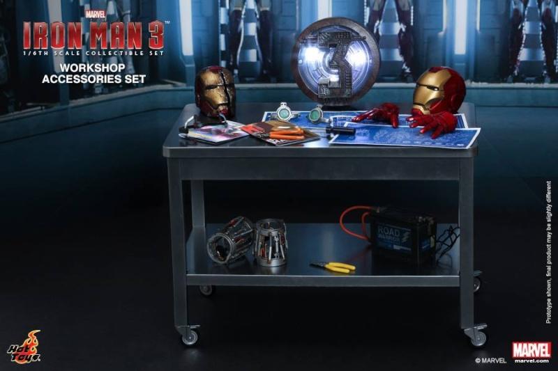 HOT TOYS - Iron Man 3 - Workshop Accessories Set 10514611