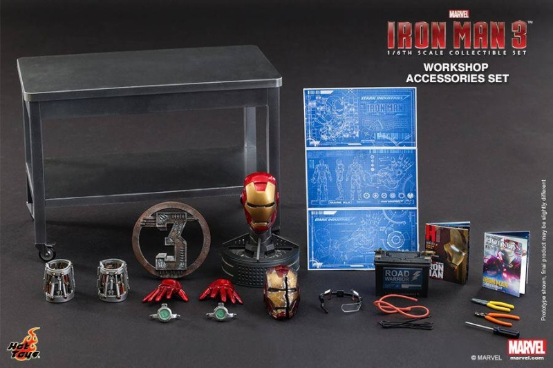 HOT TOYS - Iron Man 3 - Workshop Accessories Set 10522011