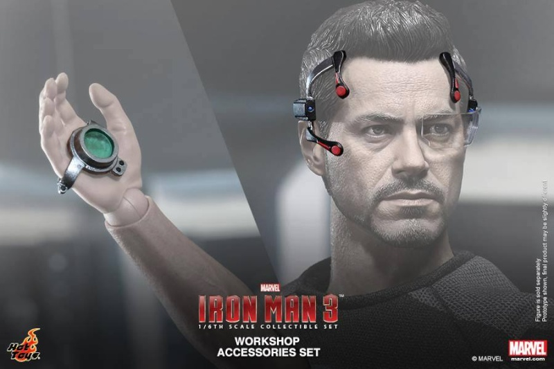 HOT TOYS - Iron Man 3 - Workshop Accessories Set 10524310