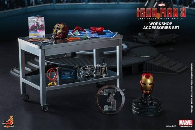 HOT TOYS - Iron Man 3 - Workshop Accessories Set 10527410