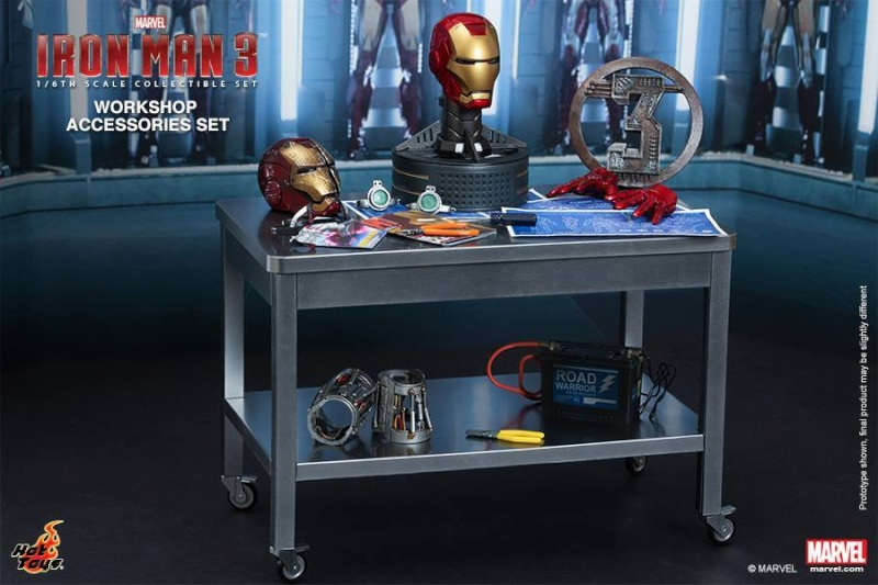 HOT TOYS - Iron Man 3 - Workshop Accessories Set 10565010