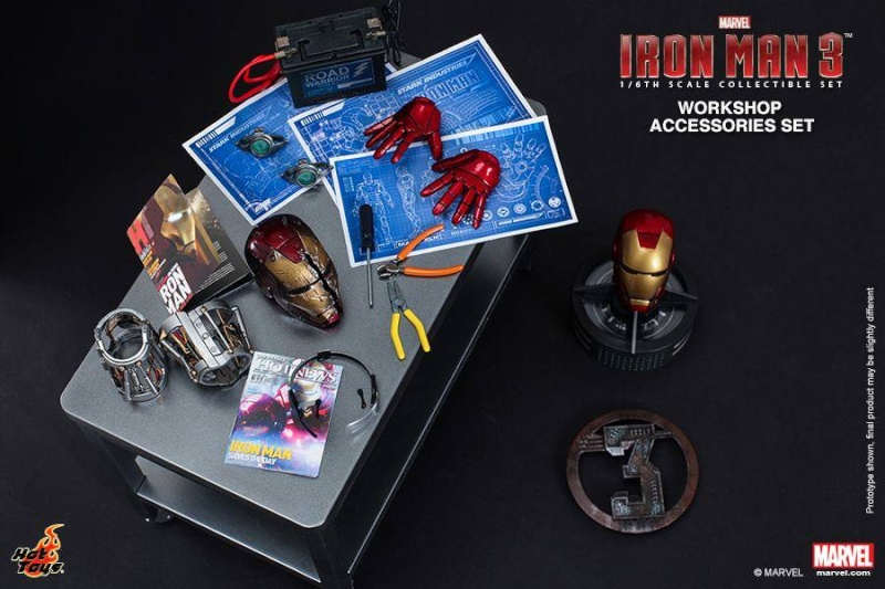 HOT TOYS - Iron Man 3 - Workshop Accessories Set 10568910