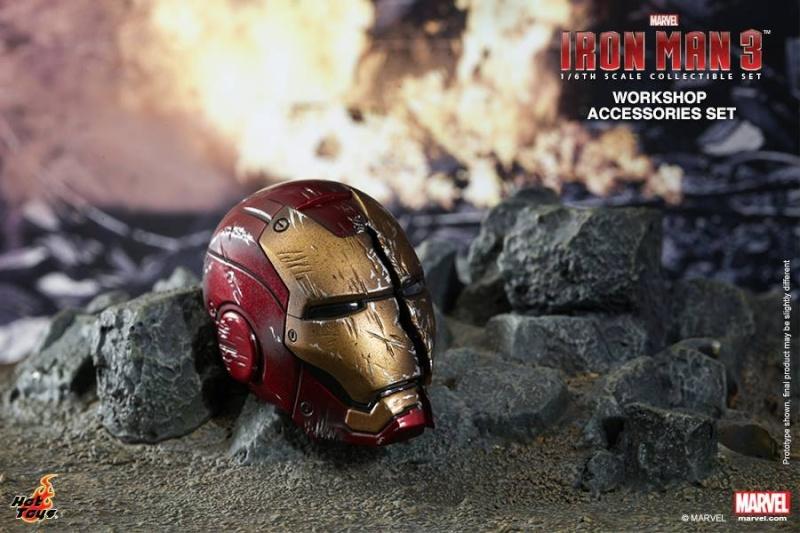 HOT TOYS - Iron Man 3 - Workshop Accessories Set 10577110