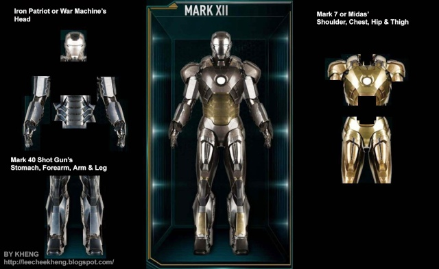 IRON MAN 3 - Recap des armures Mark_112