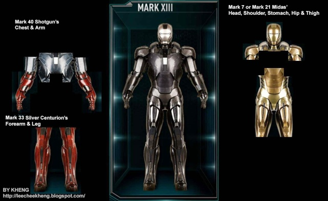 IRON MAN 3 - Recap des armures Mark_113