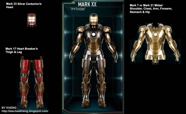 IRON MAN 3 - Recap des armures Mark_210