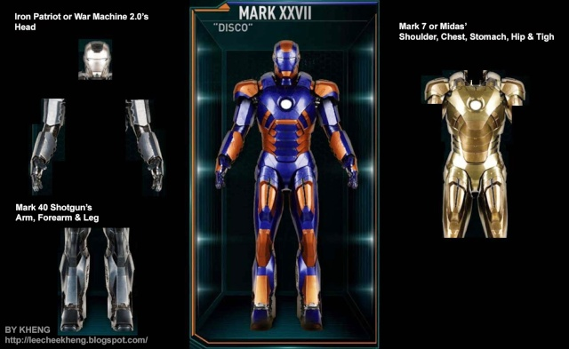 IRON MAN 3 - Recap des armures Mark_219