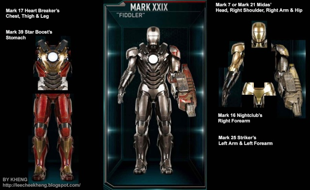 IRON MAN 3 - Recap des armures Mark_222