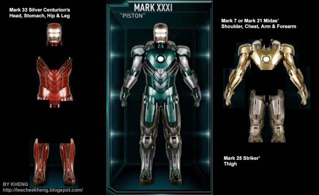 IRON MAN 3 - Recap des armures Mark_311