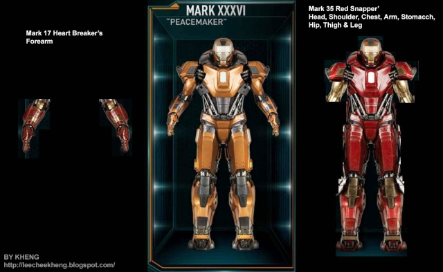 IRON MAN 3 - Recap des armures Mark_316