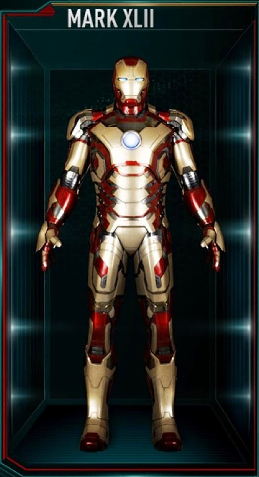 IRON MAN 3 - Recap des armures Mark_412